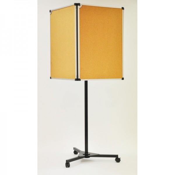 panneau affichage mobile 4 faces sur tableau. Black Bedroom Furniture Sets. Home Design Ideas